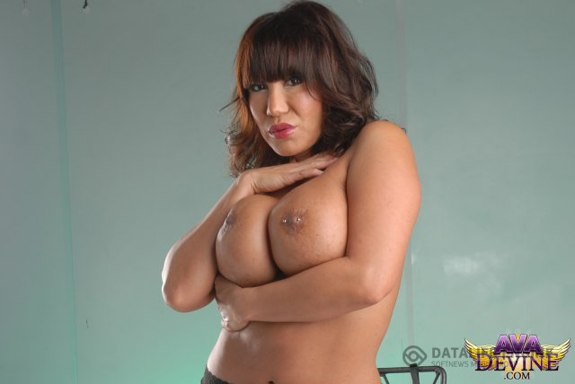 Asian Lady Ava Devine Unleashes Her Big Tits That Sport Pierced Nipples Sapphicerotica 1