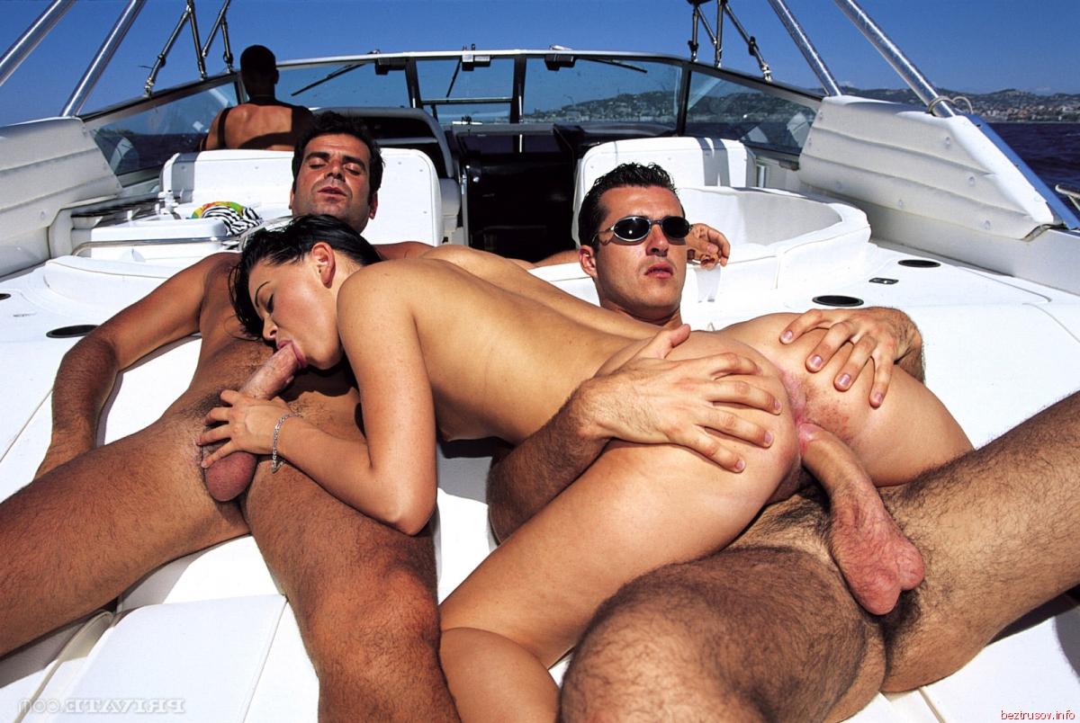 Русский секс на яхте