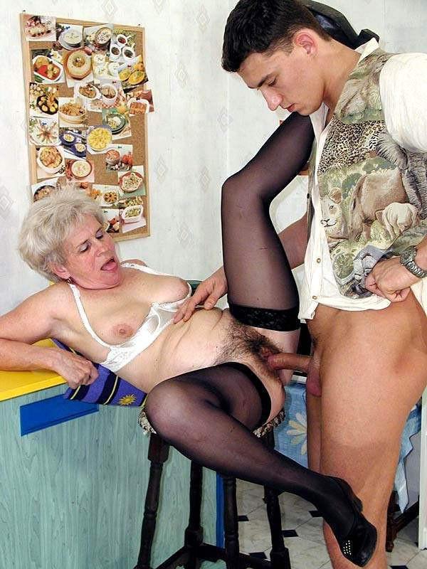 бабушкой очень рассказ старой порно с