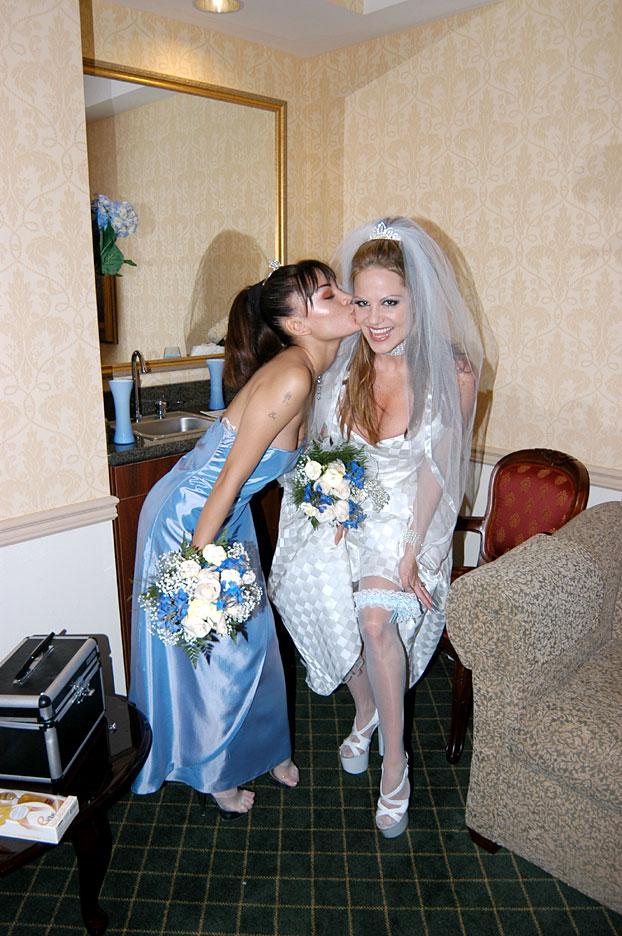 гламурные невесты порно