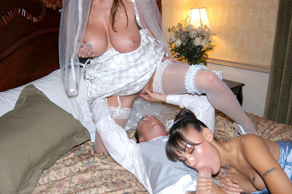 Порно пяных невест свадьбы