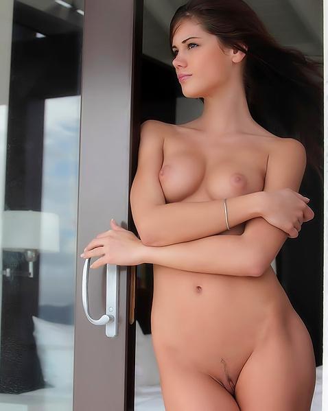 Секс с худой без сисек