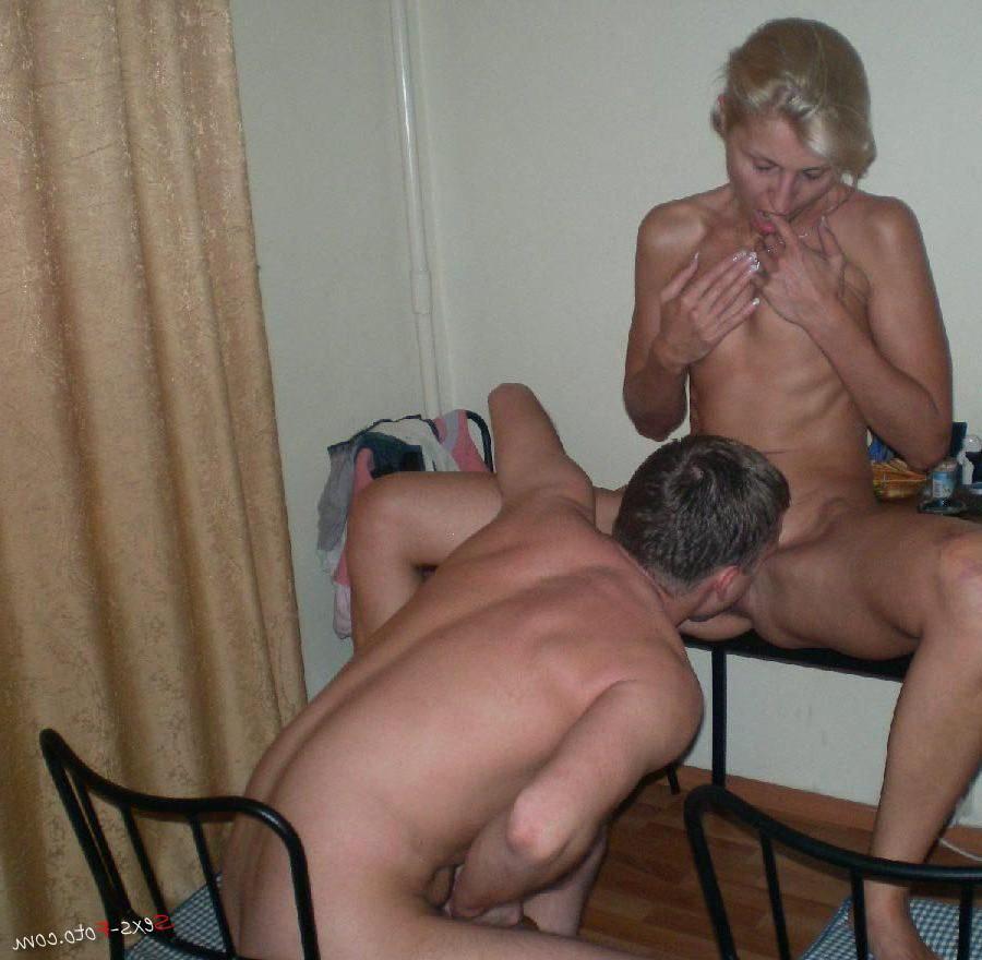 Порно два члена для жены 7